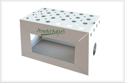 Produce shipping boxes