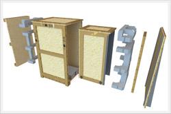 wooden crates skids